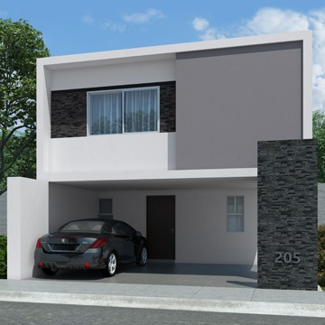 Foto de casa en venta modelo Senza en Samsara Residencial, Cumbres, Nuevo León.