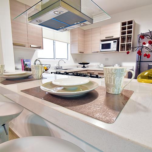 Foto de cocina de casa en venta modelo Senza en Samsara Residencial, Cumbres, Nuevo León.